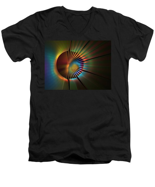 Out Of The Corner Of My Eye Men's V-Neck T-Shirt