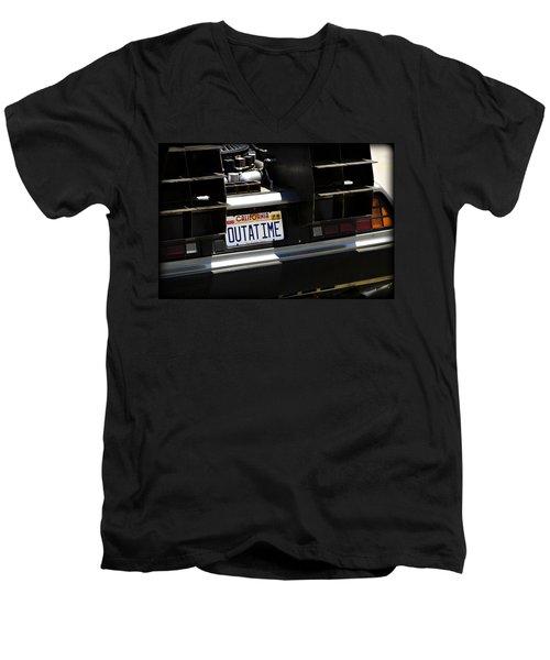 Outatime Men's V-Neck T-Shirt