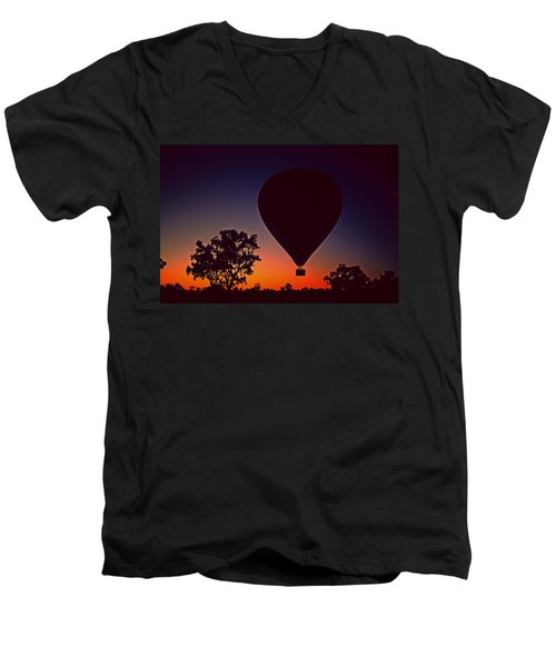 Outback Balloon Launch Men's V-Neck T-Shirt