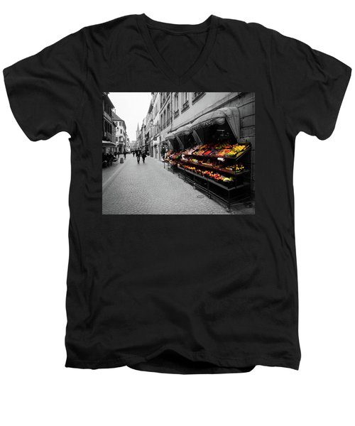 Outdoor Market Men's V-Neck T-Shirt