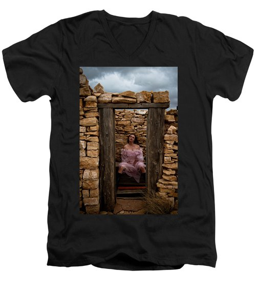 Outdoor Outhouse Men's V-Neck T-Shirt