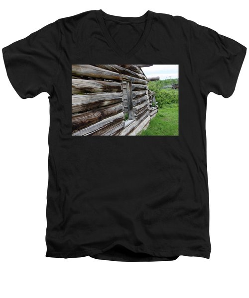 Outside Cabin Window Men's V-Neck T-Shirt