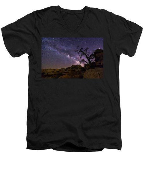 Overwatch Men's V-Neck T-Shirt by Tassanee Angiolillo