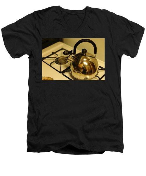 Pa Kettle Men's V-Neck T-Shirt