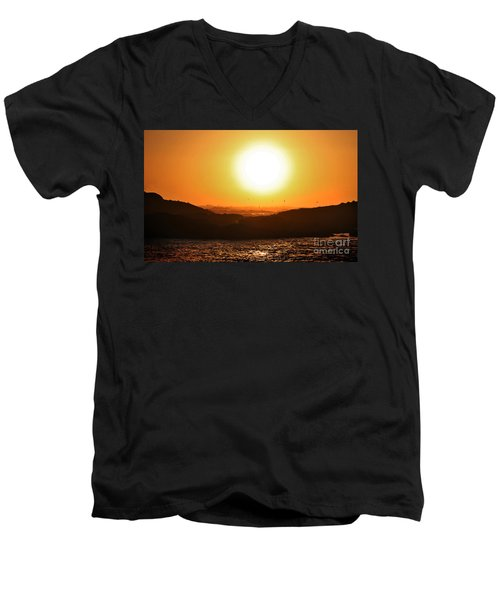 Pacific Sunset Men's V-Neck T-Shirt