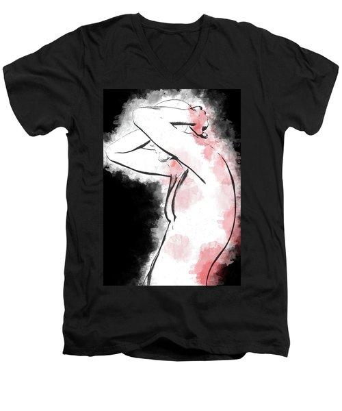 Pain And Depression Men's V-Neck T-Shirt