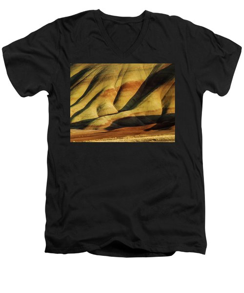 Painted In Gold Men's V-Neck T-Shirt