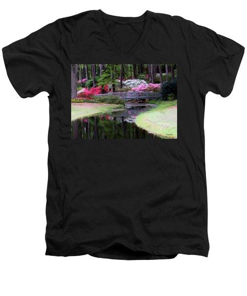 Painting At Calloway Men's V-Neck T-Shirt