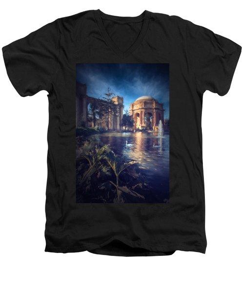 Palace Of Fine Arts Men's V-Neck T-Shirt