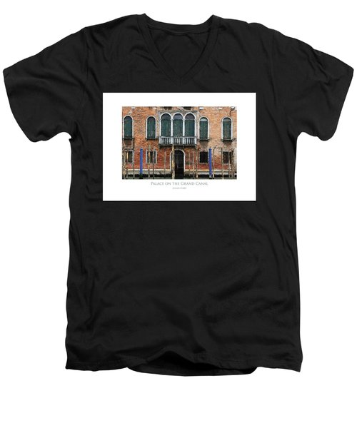 Palace On The Grand Canal Men's V-Neck T-Shirt