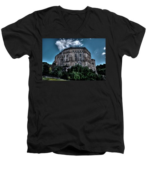 Palermo Center Men's V-Neck T-Shirt by Patrick Boening