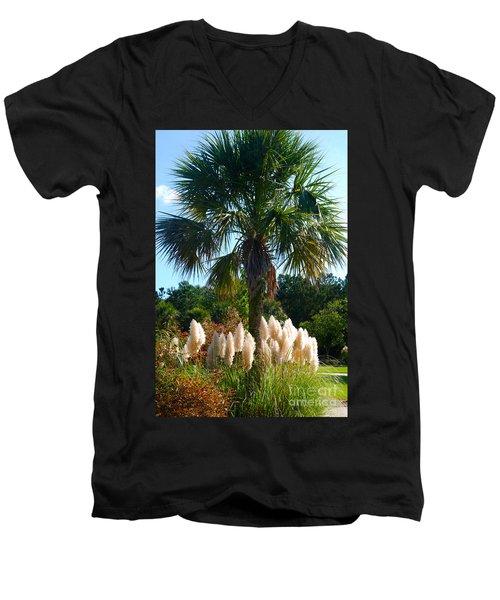 Palmetto Tree  Men's V-Neck T-Shirt