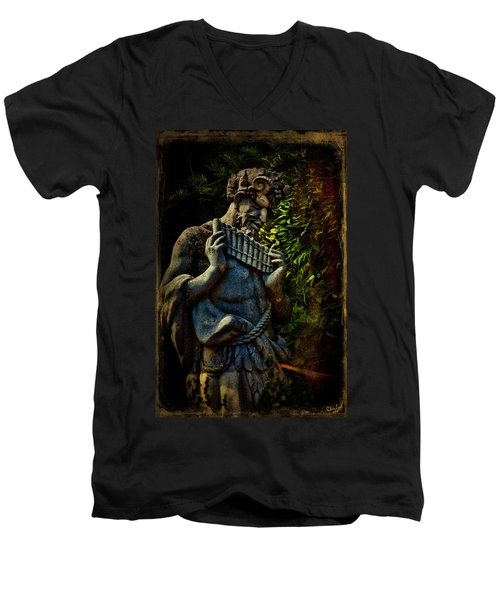 Pan  Men's V-Neck T-Shirt