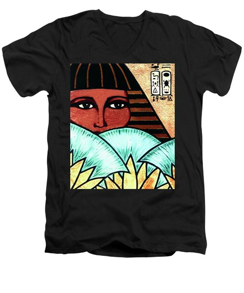 Papyrus Girl Men's V-Neck T-Shirt