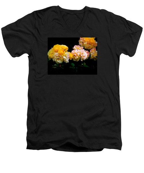 Parade Of Roses  Men's V-Neck T-Shirt