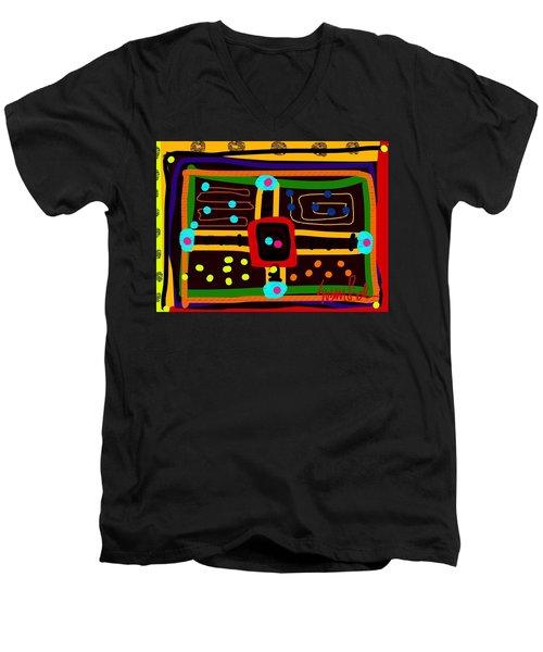 Parchoosie Men's V-Neck T-Shirt