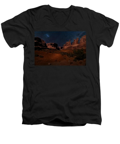 Park Avenue Trailhead Men's V-Neck T-Shirt