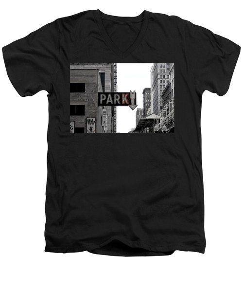 Park Men's V-Neck T-Shirt