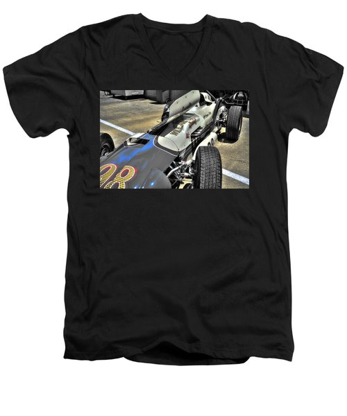 Parnelli Jones Watson Roadster 1963 Men's V-Neck T-Shirt by Josh Williams
