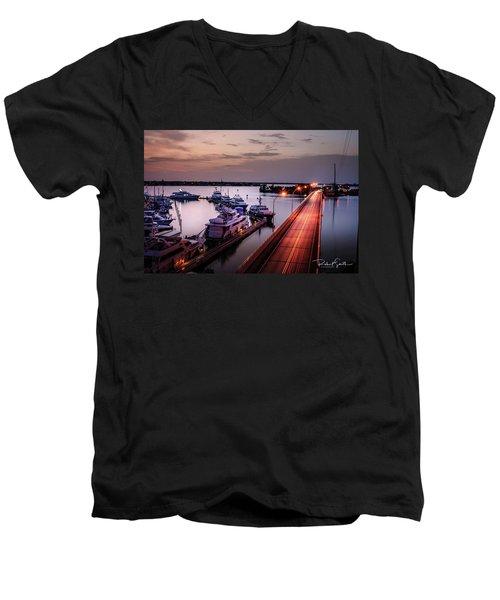 Passing Lights Men's V-Neck T-Shirt