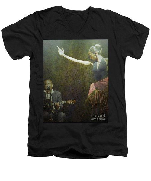 Passion Of The Dance Men's V-Neck T-Shirt