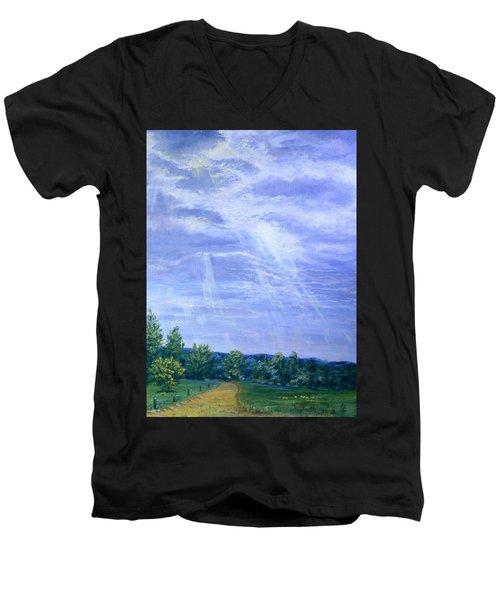 Pasture Lane Men's V-Neck T-Shirt
