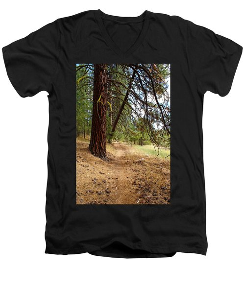 Path To Enlightenment 2 Men's V-Neck T-Shirt
