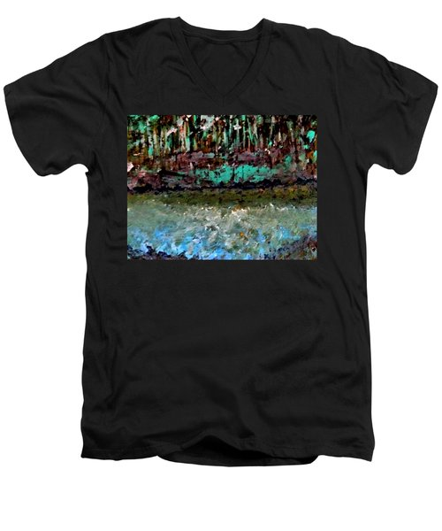 Pathless Woods Men's V-Neck T-Shirt