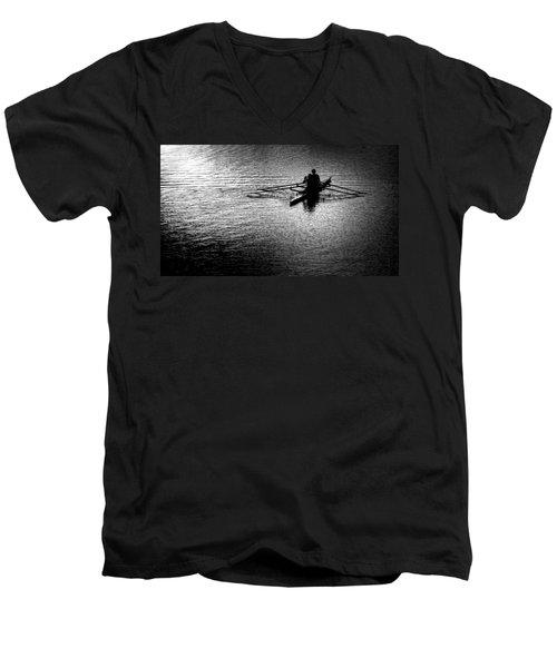Pause Men's V-Neck T-Shirt