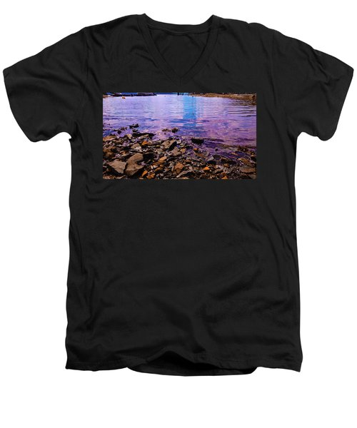Peace Of Colors  Men's V-Neck T-Shirt