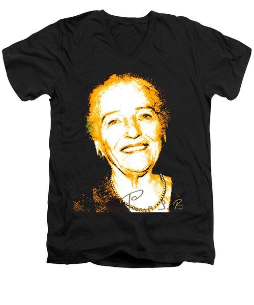 Pearl Buck Men's V-Neck T-Shirt