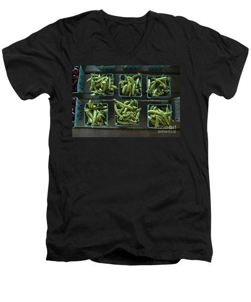 Peas Men's V-Neck T-Shirt