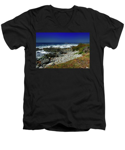Pebble Beach Men's V-Neck T-Shirt