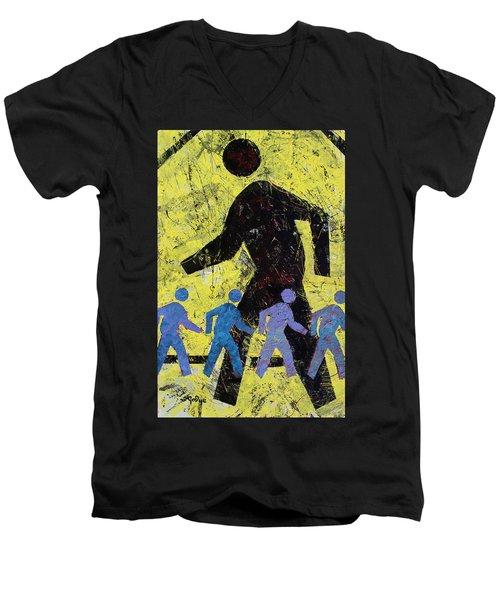 Pedestrian Men's V-Neck T-Shirt