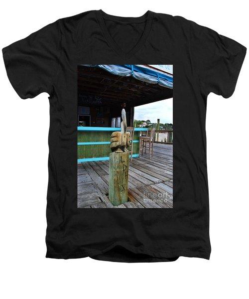 Pelican American Fish Company Men's V-Neck T-Shirt