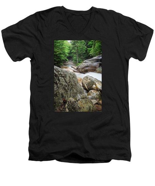 Pemi Above Basin Men's V-Neck T-Shirt