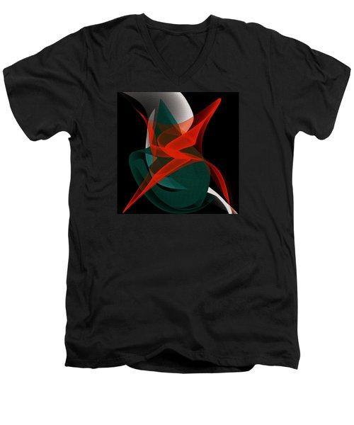 Penman Original-263-private Dancer Men's V-Neck T-Shirt by Andrew Penman