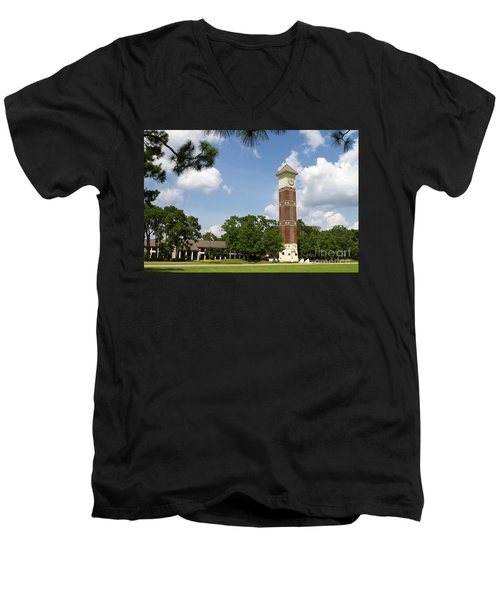 Pensacola State College Men's V-Neck T-Shirt