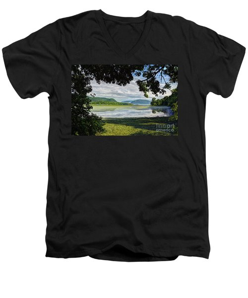 Perfectly Framed Men's V-Neck T-Shirt