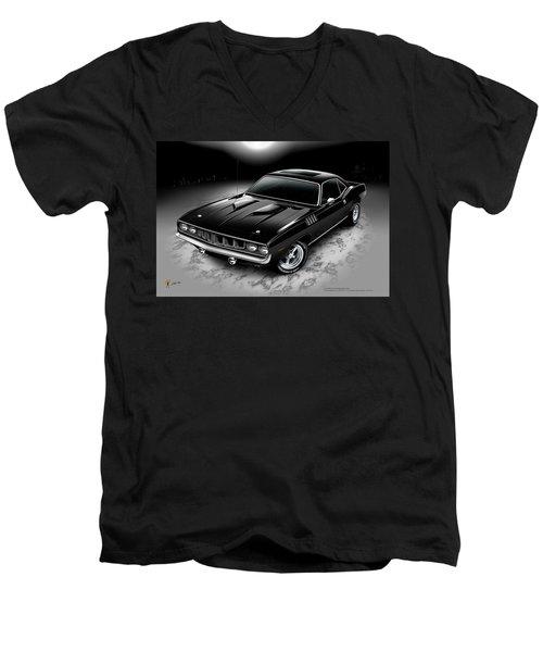 Phantasm 71 Cuda Men's V-Neck T-Shirt