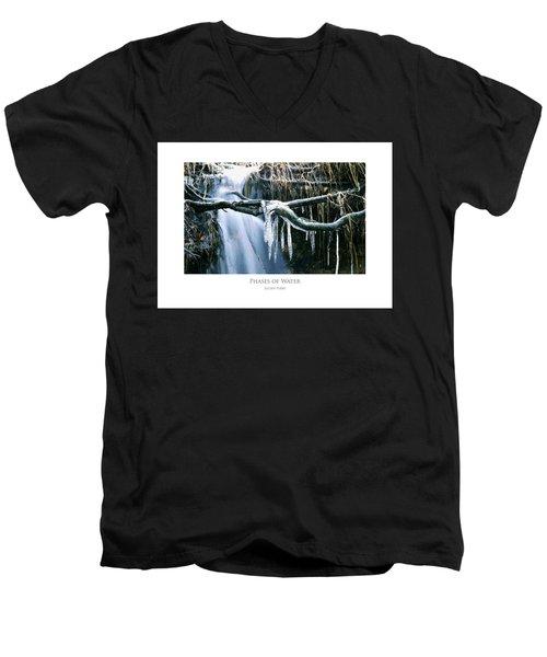 Phases Of Water Men's V-Neck T-Shirt