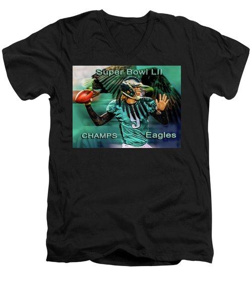 Philadelphia Eagles - Super Bowl Champs Men's V-Neck T-Shirt