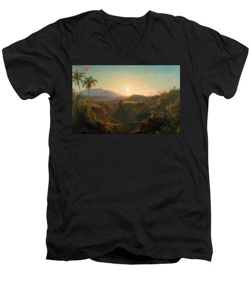 Pichincha Men's V-Neck T-Shirt