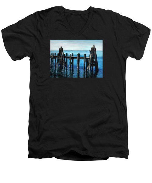 Pier Men's V-Neck T-Shirt