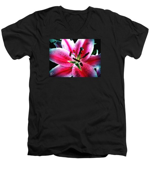 Pink Passion Men's V-Neck T-Shirt