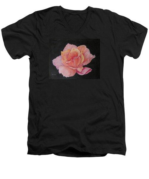 Pinky Men's V-Neck T-Shirt by Barbara O'Toole