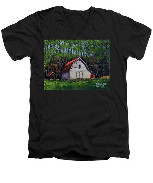Pinson Barn At Harrison Park Men's V-Neck T-Shirt