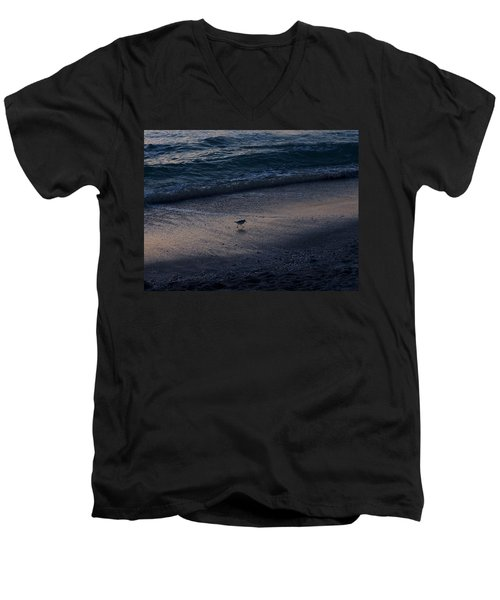Piper At Dusk Men's V-Neck T-Shirt