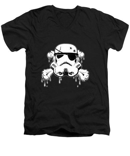 Pirate Trooper Men's V-Neck T-Shirt
