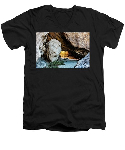 Pirate's Cave Men's V-Neck T-Shirt